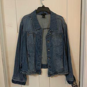 Lane Bryant size 26 jean jacket